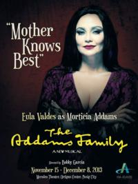 Eula Valdes to Star as 'Morticia' in THE ADDAMS FAMILY in Manila, Nov-Dec 2013