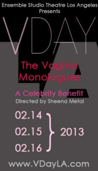 All-Star Cast Set for THE VAGINA MONOLOGUES V-Day Performance at Atwater Village Theatre, 2/14-16