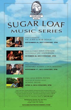 Sugar Loaf Music Series to Debut at Seligmann Center For The Arts, 9/29