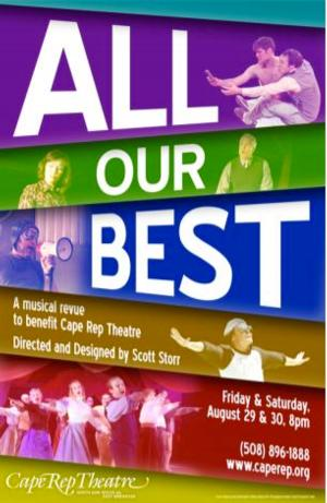 Cape Rep Theatre to Present ALL OUR BEST Musical Revue Benefit, 8/29-30