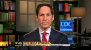CDC Director Warns 'Must Act Now' on Ebola Epidemic on CBS THIS MORNING