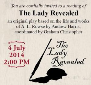 Geoffrey Beevers, Sonia Ritter and More Set for THE LADY REVEALED Reading at Tristan Bates Theatre, July 4