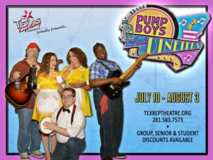 Texas Repertory Theatre Presents PUMP BOYS AND DINETTES, 7/11-8/3