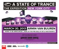 Armin van Buuren's A STATE OF TRANCE 600 World Tour to Stop at Madison Square Garden, 3/30
