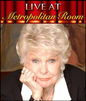 The Metropolitan Room to Salute Elaine Stritch in a One-Night-Only Concert, 8/7
