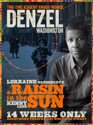 A RAISIN IN THE SUN Broadway Revival with Denzel Washington Begins Previews Tomorrow