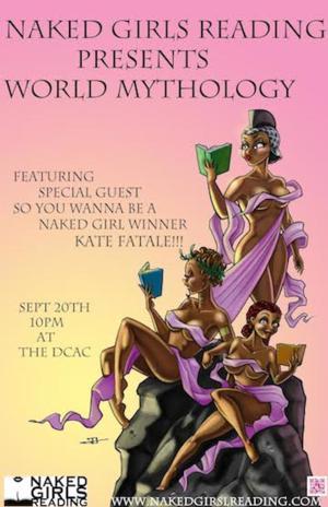 Naked Girls Reading to Present WORLD MYTHOLOGY at DC Arts Center, 9/20