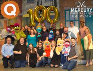 AVENUE Q Celebrates 100th Performance at Mercury Theater Chicago