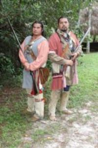 Seminole War Reenactment Displays Highlight the Big Cypress Shootout, 3/2