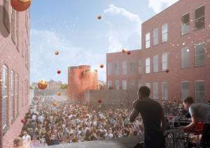MoMA and MoMA PS1's 2014 Youth Architects Program Opens Today in the Courtyard