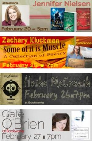 This Week at Bookworks Includes Jennifer Nielsen, Zachary Kluckman and More