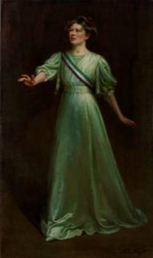 The National Portrait Gallery Displays A Portrait of a Lead Suffragette for the First Time in 80 Years