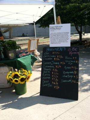 Project EATS to Run Farm Stand on Thursdays in Front of Brooklyn Museum, Beg. 7/17