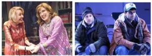 THE TRIBUTE ARTIST and ALMOST, MAINE Cast Members Set for THEATER TALK, Now thru 2/10
