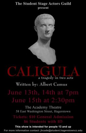 BWW Interviews: The Cast of CALIGULA Discusses Debut of the Tragedy in Hagerstown
