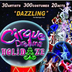 CIRQUE DREAMS HOLIDAZE Returns to Morrison Center this Holiday Season