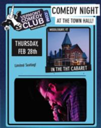 Nathan Hartswick and More Set for VT's Town Hall Theater Comedy Night, 2/28