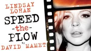 Lindsay Lohan 'Nervous' for Stage Debut in SPEED THE PLOW