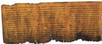 Museum of Science, Together with the Israel Antiquities Authority, Presents Dead Sea Scrolls: Life in Ancient Times