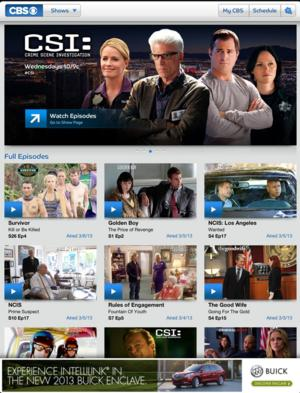 CBS App Now Available for Android and Windows 8* Users