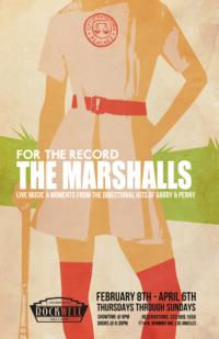 FOR THE RECORD: THE MARSHALLS to Begin Previews 2/8 at Rockwell: Table & Stage