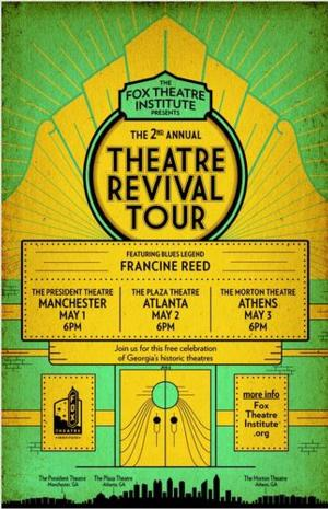 Fox Theatre Institute's 2nd Annual Theatre Revival Tour Set for 5/1-3