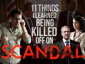 Dan Bucatinsky Shares His Experiences With Being Killed Off on ABC's SCANDAL