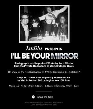 Andy Warhol Exhibit I'LL BE YOUR MIRROR of Madonna, Mick Jagger and Others on View in NYC