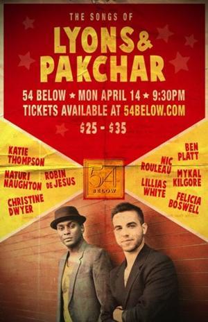 Lillias White, Ben Platt, Robin De Jesus & More to Perform Songs of Lyons & Pakchar at 54 Below, 4/14