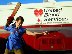 EVIL DEAD to Host Blood Drive, 1/31