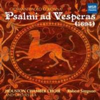 Houston Chamber Choir Releases World Premiere Recording of 'Psalmi ad Vesperas', 9/18