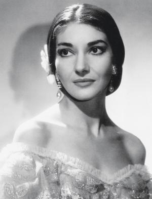 Opera Singer Maria Callas Complete Studio Recordings Now Remastered