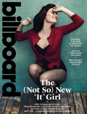 Billboard Magazine Sells Out of Issue Featuring IF/THEN's Idina Menzel