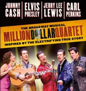 MILLION DOLLAR QUARTET to Play the Morris Performing Arts Center, 3/14-15