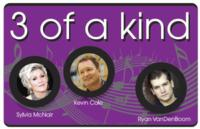 Bay City Players to Present 3 OF A KIND, 4/11-14