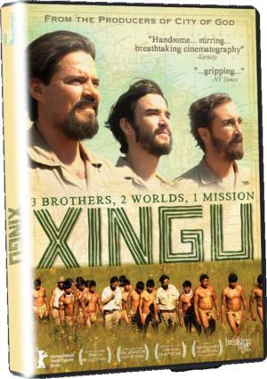 Brazilian Epic XINGU Available on DVD 9/9