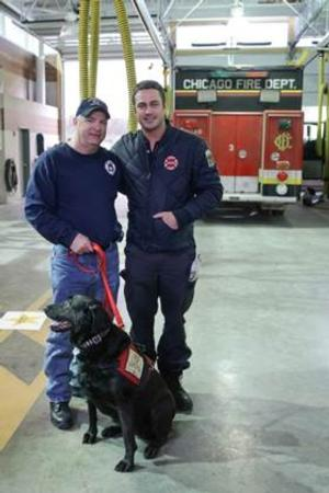 Nation's Top Firehouse Dog to Appear on NBC's CHICAGO FIRE, 5/6