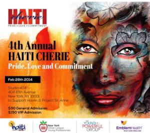 4th Annual Haiti Cherie Set for 2/28 at Studio 404