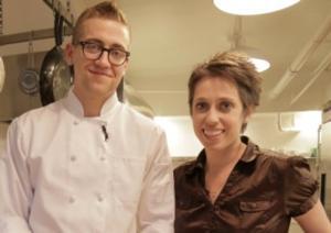 Athena Reich & Jase Grimm's Host GLBT Web Series CURIOUS COOK