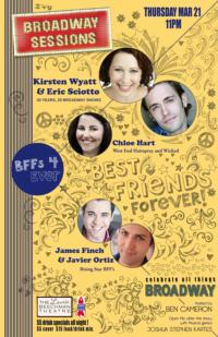 BROADWAY SESSIONS to Welcome Broadway BFFs Eric Sciotto and Kirsten Wyatt, 3/21