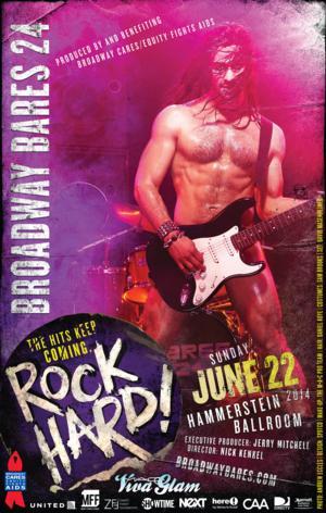 BROADWAY BARES 24 Will 'Rock Hard' at Hammerstein Ballroom on 6/22