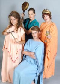 Theatre in the Round Presents LYSISTRATA, Now thru 9/30