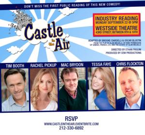 CEW Productions Offers Industry Reading of CASTLE IN THE AIR Today