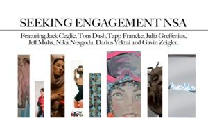 Lyons Weir Gallery to Open SEEKING ENGAGEMENT NSA, Featuring Jack Ceglic, Tom Dash, and More, 2/6