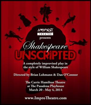 Impro Theatre Celebrate Shakespeare's Birthday with Special 'UNSCRIPTED' Performance Tonight
