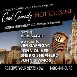 Bob Saget Hosts COOL COMEDY - HOT CUISINE for Scleroderma Research, Today