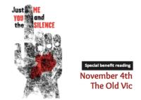 JUST-ME-YOU-AND-THE-SILENCE-Gets-Special-Benefit-Reading-at-The-Old-Vic-20010101