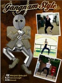 Brilliance.com Creates Gangnam-Style Pendant