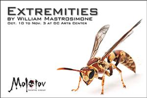 BWW Reviews: Molotov Theatre's Intimate Take on EXTREMITIES Does Not Shy Away from Challenge