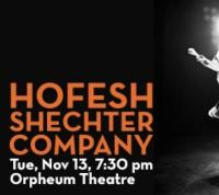 Northrop Dance and Walker Art Center Present the Minnesota Debut of Hofesh Shechter Company, 11/13